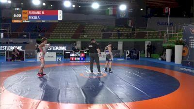 57 kg Nicholas Raymond SURIANO, USA vs Ahmet PEKER, TUR