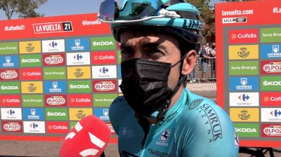 Ion Izaguirre: 'Personally, I Hate These Climbs' Stage 14 - 2021 Vuelta A España