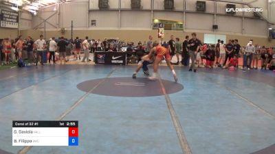 70 kg Consi Of 32 #1 - Greg Gaxiola, Valley RTC vs Brik Filippo, Bronchos Wrestling Club