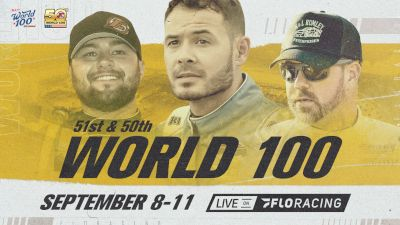 Full Replay | 50th World 100 Friday at Eldora 9/10/21