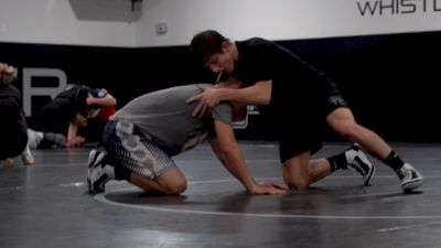 Levi haines Spars From Short Offense