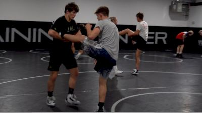 Levi Haines Drill Session