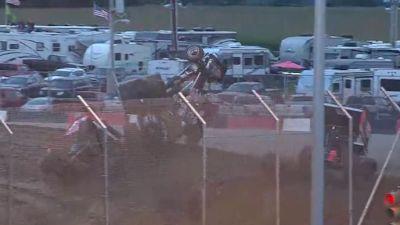 Big Heat Race Pile-Up at Attica Raceway Park