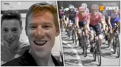 All Access: Lawson Craddock Celebrates EF's Successes At La Vuelta a España