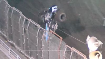 Tony Gomes Flips Into The Fence At The Louie Vermeil Classic