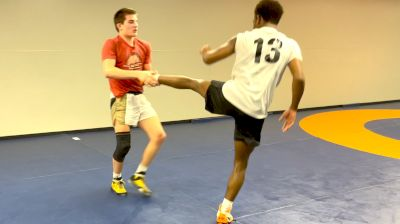 Three Minutes Of Meyer Shapiro And Jordan Williams' Funky Sparring