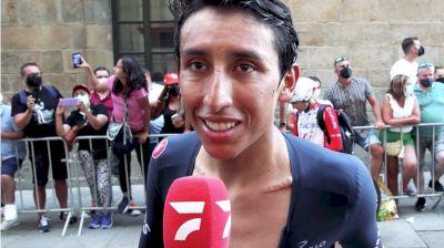 Egan Bernal: 'I Suffered A Lot' Stage 21 - 2021 Vuelta a España