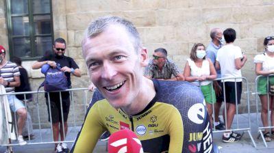 Robert Gesink: 'We Saw A Really Strong Team' Stage 21 - 2021 Vuelta A España