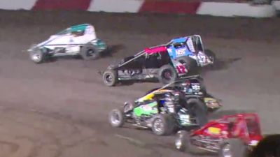 Feature Replay | USAC/CRA Sprints Sunday at Louie Vermeil Classic