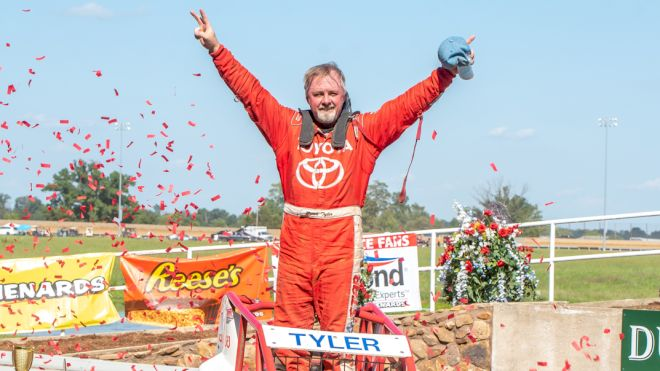 Brian Tyler Tops Ted Horn 100 at Du Quoin