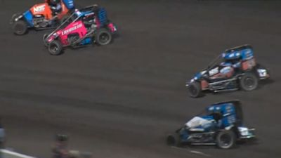 Highlights | USAC Midgets Friday at Huset's Speedway