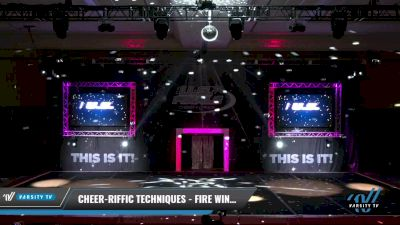 Cheer-riffic Techniques - Fire Wings [2021 L2.1 Youth - PREP 2] 2021 The U.S. Finals: Grapevine