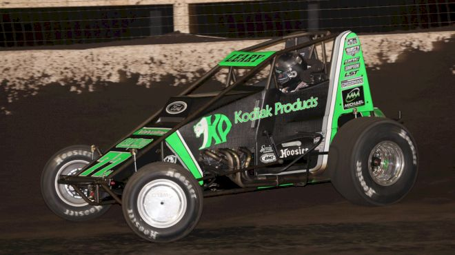 CJ Leary Sprints To Huset's Triumph