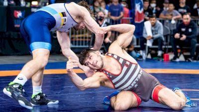 65 kg Round 3 - Yianni Diakomihalis, TMWC / Spartan Combat RTC vs Joseph McKenna, Titan Mercury Wrestling Club