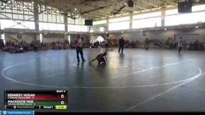 58 lbs Round 2 (4 Team) - Kennedy Hogan, Charlies Angels Pink vs Mackenzie Moe, Indiana INFERNO BLACK