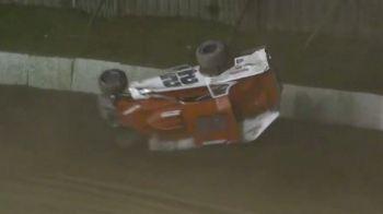 Hard Impact During Fonda 200 Heat Race
