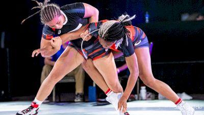 152 lbs WNO - Jasmine Robinson, Texas vs Destiny Rodriguez, Oregon
