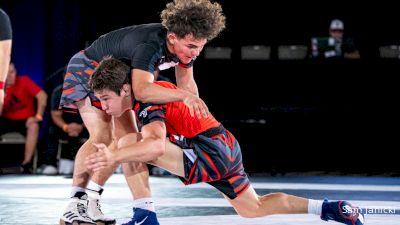120 lbs WNO - Nate Jesuroga, Iowa vs Joey Cruz, California