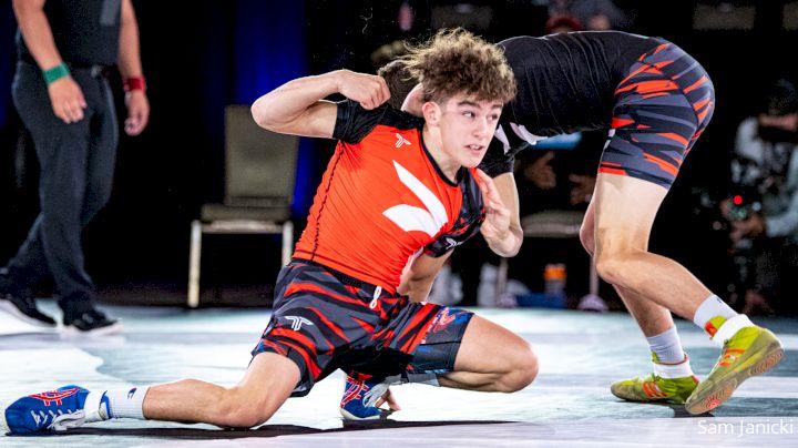 106 lbs Wno - Anthony Knox, New Jersey vs Luke Lilledahl, Missouri