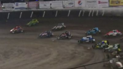 Feature Replay | USAC Haubstadt Hustler at Tri-State Speedway