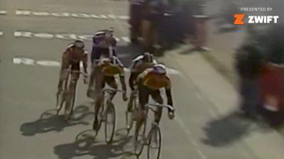 The Closest Paris-Roubaix Finish Ever - Canadian Steve Bauer's 1990 Milimeter Loss
