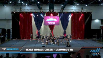 Texas Royals Cheer - Diamonds Jr [2021 L1 Junior - D2 - Medium Day 2] 2021 The American Spectacular DI & DII