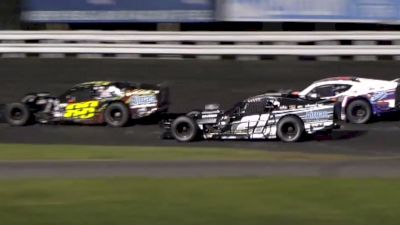 Thrilling SK Modified Finish At Stafford