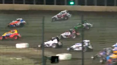 Feature Replay | USAC East Coast Sprints at Bridgeport