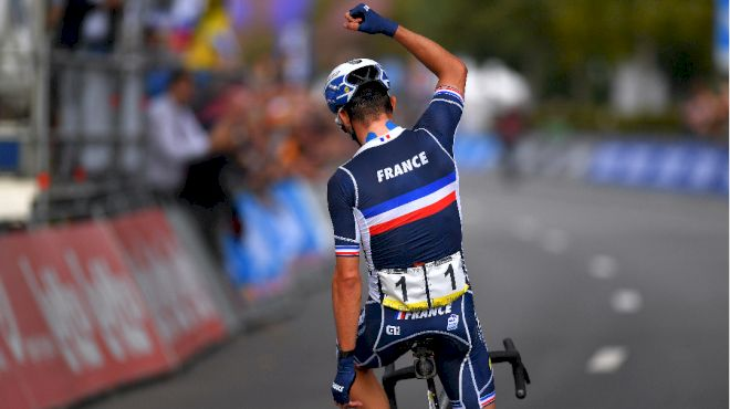Smart Tactics And A Defensive Team Keep The Rainbow Jersey In France