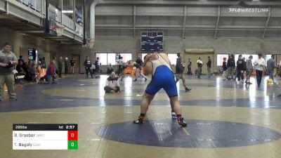 Final - Bruce Graeber, Unrostered vs Tyler Bagoly, Clarion