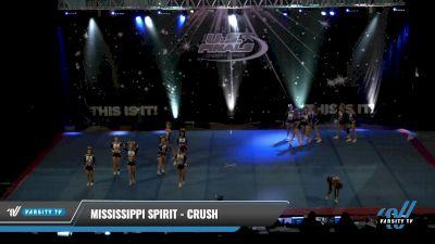 Mississippi Spirit - Crush [2021 L2 Senior - Small Day 1] 2021 The U.S. Finals: Pensacola