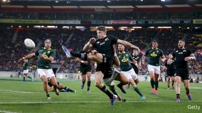 All Blacks & Springboks Set Rosters