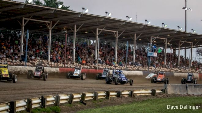 Friday Night Lights For USAC Sprints At Terre Haute