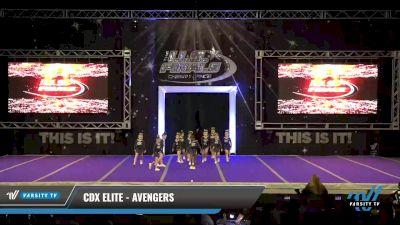 CDX Elite - Avengers [2021 L1.1 Tiny - PREP Day 1] 2021 The U.S. Finals: Ocean City