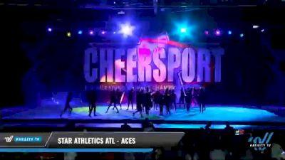 Star Athletics ATL - Aces [2021 L3 Junior - Medium - A Day 1] 2021 CHEERSPORT National Cheerleading Championship