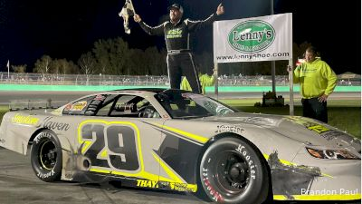 Trevor Sanborn Snaps PASS Drought In Thunder Road Debut