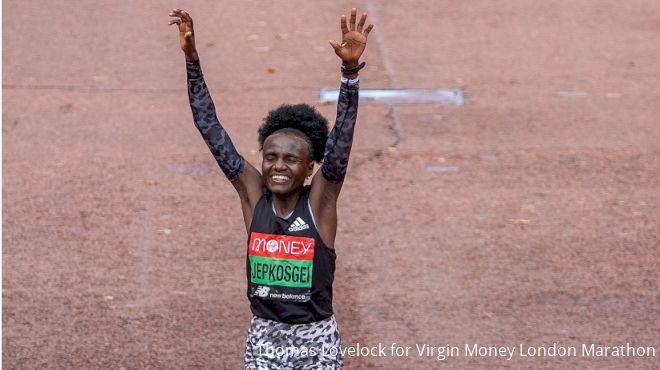 Jepkosgei, Lemma Take Virgin Money London Marathon Wins