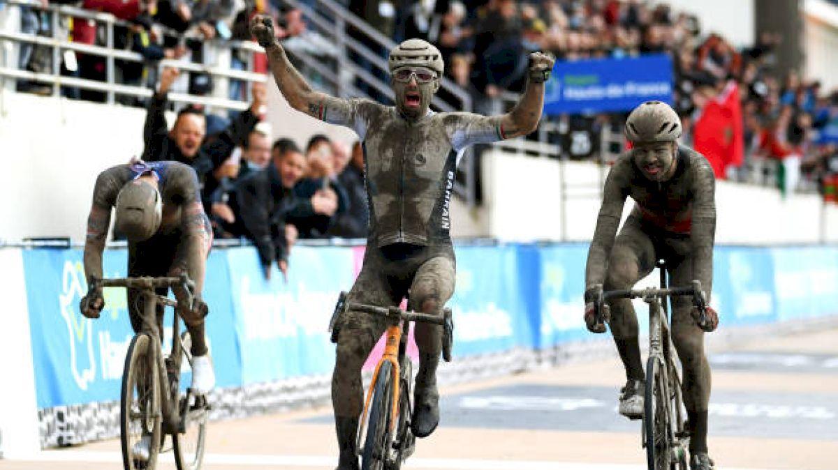 Mud And Glory For Italian Colbrelli At Thrilling Paris-Roubaix
