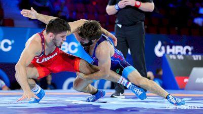 65 kg 1/8 Final - John Diakomihalis, United States vs Vazgen Tevanyan, Armenia
