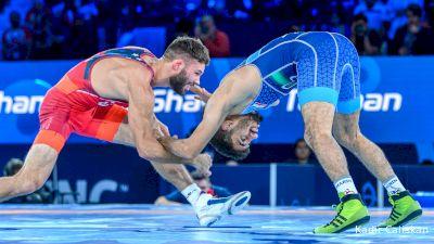 57 kg Final 1-2 - Thomas Gilman, United States vs Alireza Sarlak, Iran