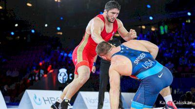 97 kg Final 1-2 - Abdulrashid Sadulaev, Russian Wrestling Federation vs Kyle Snyder, United States