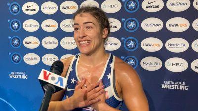 Helen Maroulis After Comeback Win In World Semis