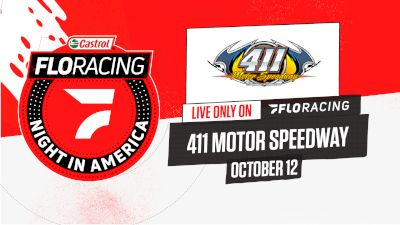 Full Replay | Castrol FloRacing Night in America at 411 Motor Speedway 10/12/21