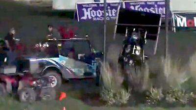 Paul McMahon Slams Into Push Truck At Fremont