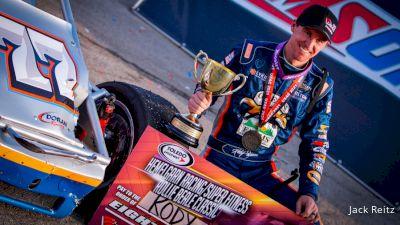 Kody Swanson Is USAC Silver Crown King Again
