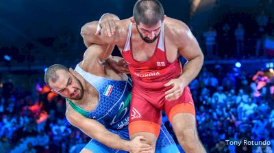 125 kg Final 1-2 - Geno Petriashvili, Georgia vs Amir Zare, Iran