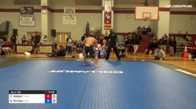 Dustin Akbari vs Stephen Simms 1st ADCC North American Trials
