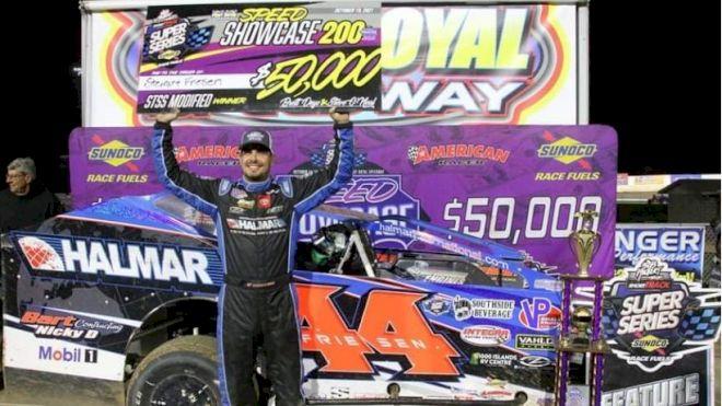 Stewart Friesen Scores Elusive Port Royal Win At Speed Showcase