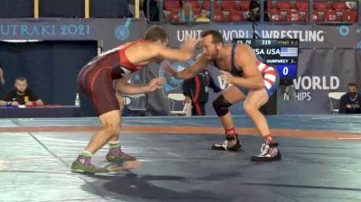 2021 Veterans Worlds Gold Medal Match 70kg: Reece Humphrey vs Jordin Humphrey