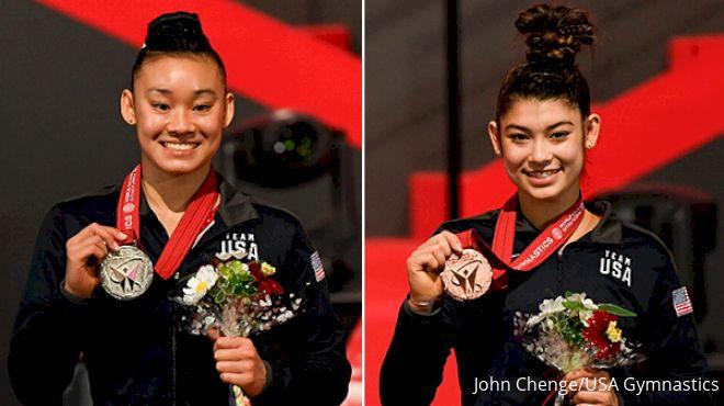 Wong, DiCello AA Medalists At 2021 Artistic Gymnastics World Championships